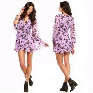 Free People   Lilou Wisteria Floral Dress